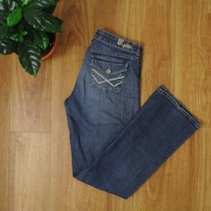 """Bootcut Skinny Jeans Kut from the Kloth 31"""" Inseam"""